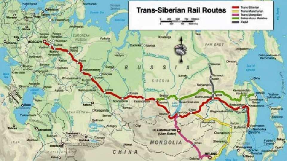 las rutas del transiberiano