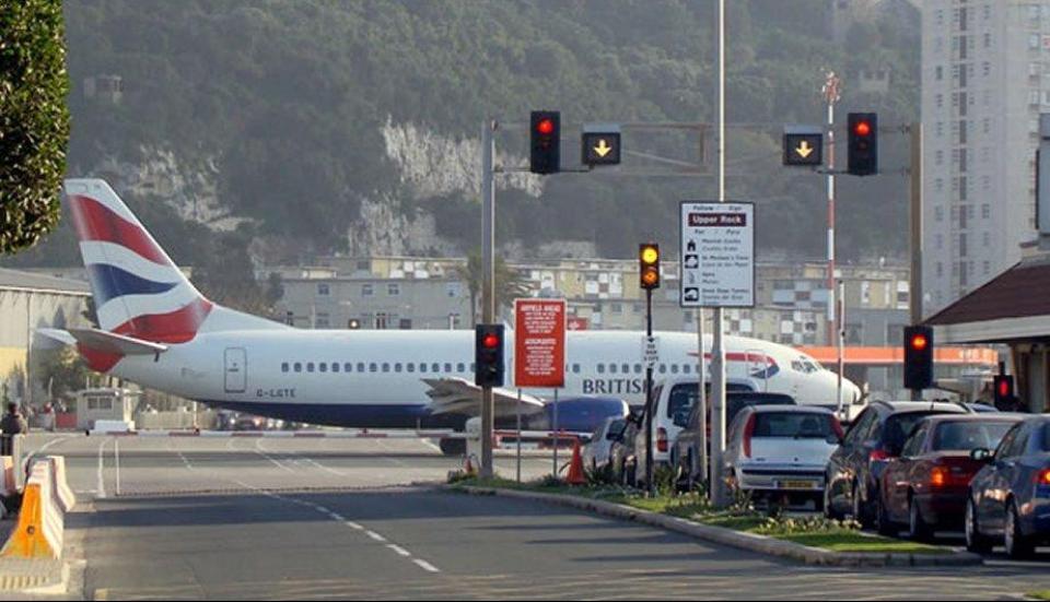 Aeropuertos impresionantes- Gibraltar