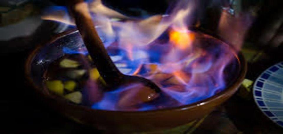 Gastronomía de Galicia queimada