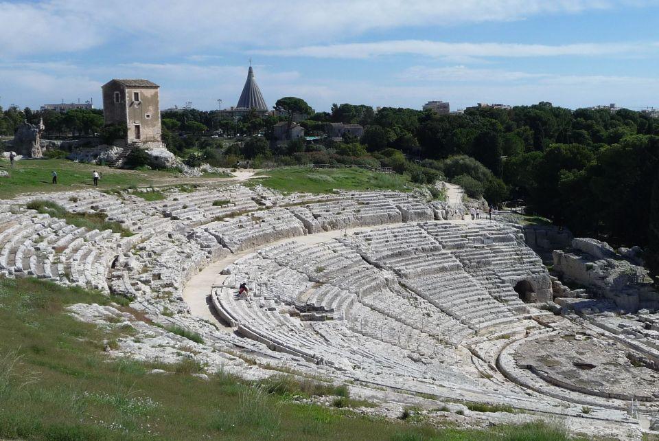 El teatro griego de Siracusa