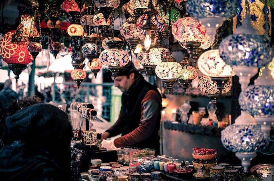 Bazar en Jordania