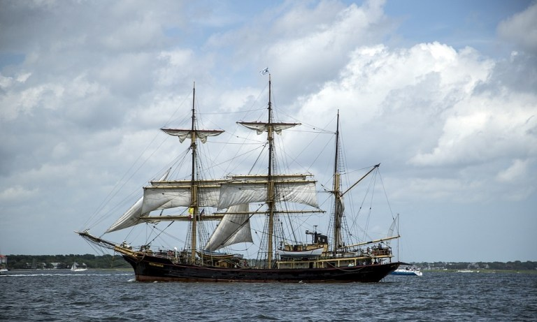 La primera vuelta al mundo fue en barco