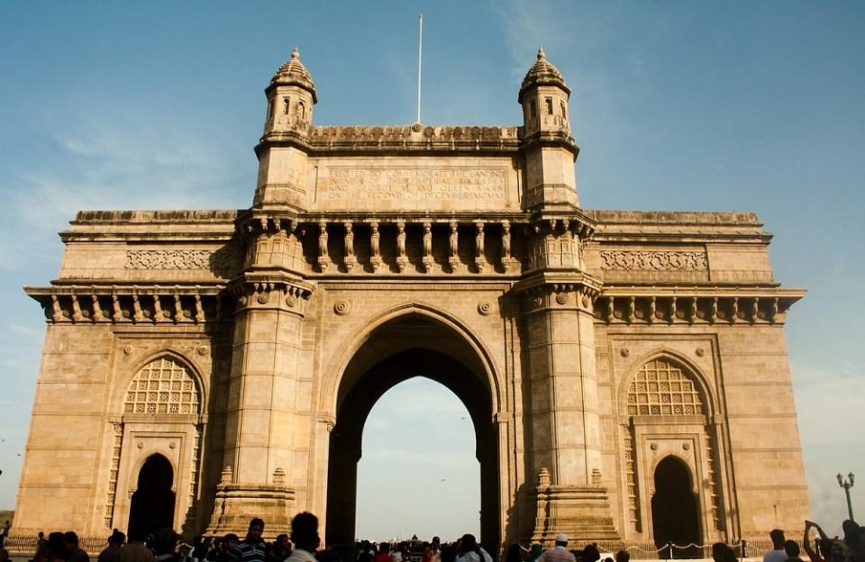 Puerta de la India, símbolo de Mumbai