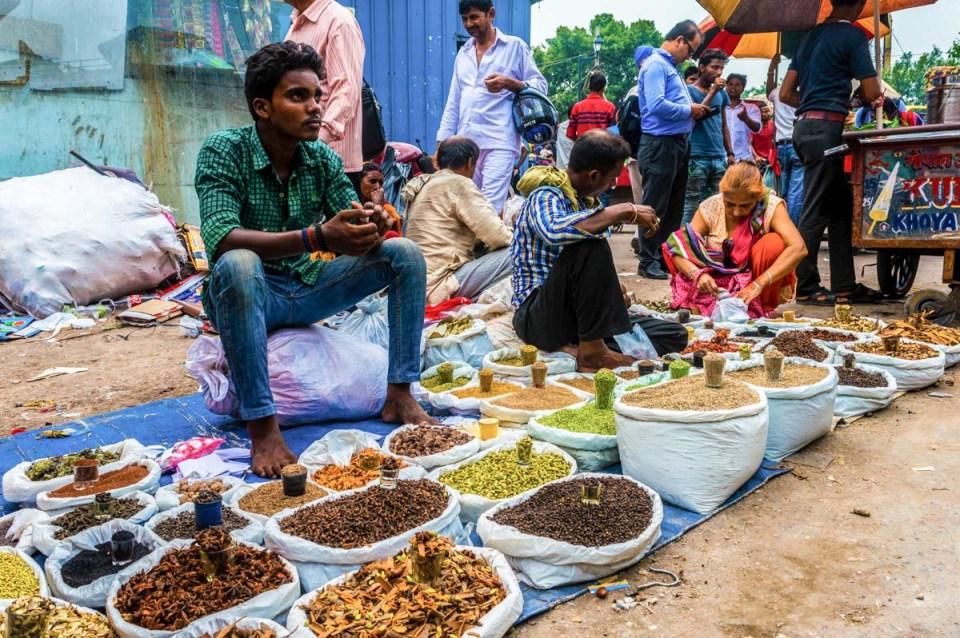 Comer en Nueva Delhi