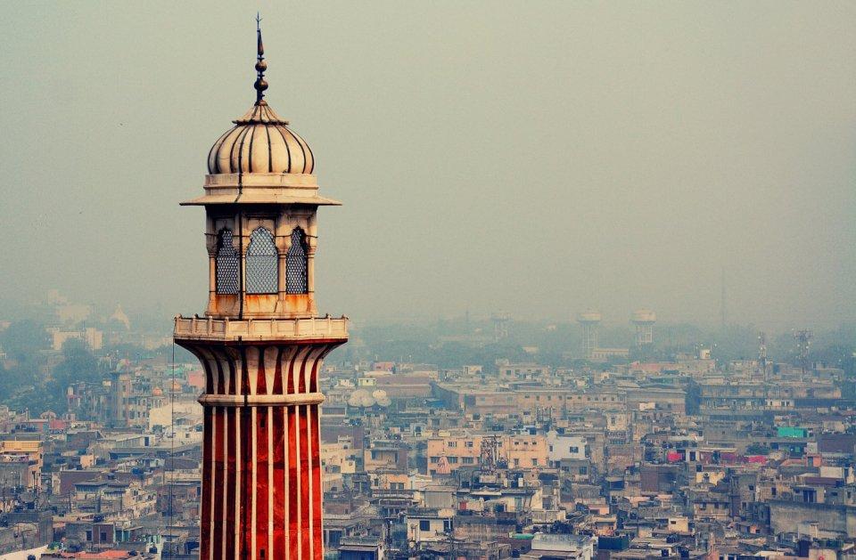 Nueva Delhi vistas ciudad India