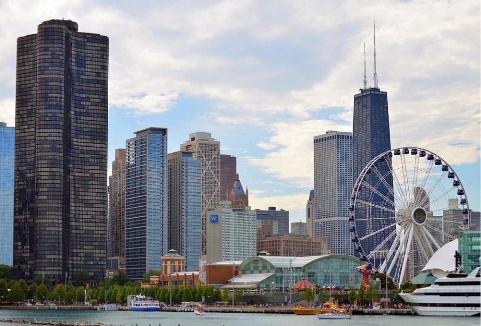 Navy Pier, uno de los lugares más visitados de Chicago