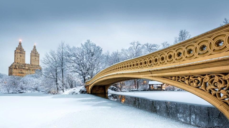 Nueva York, una de las ciudades más bonitas del mundo en invierno