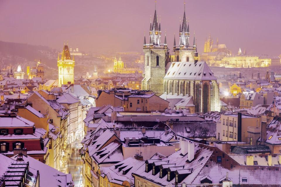 Praga, una de las ciudades más bonitas del mundo en invierno