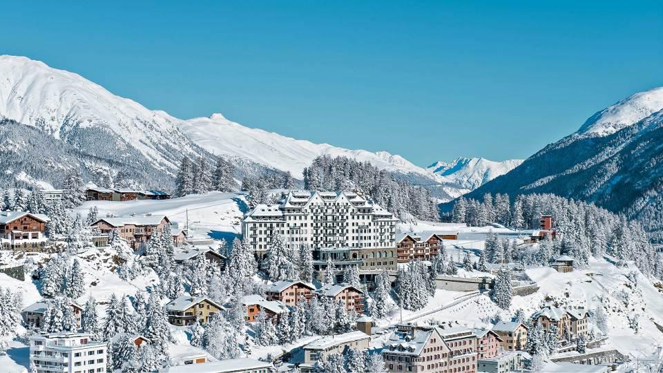 St. Moritz, una de las ciudades más bonitas del mundo en invierno