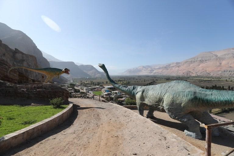 Parque Jurásico en Perú