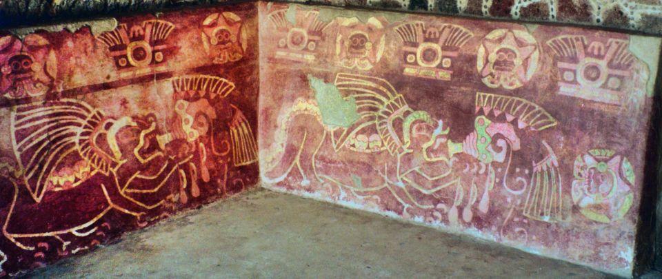 Murales en Teotihuacan