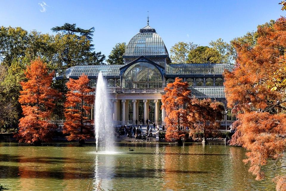 Palacio de Cristal, Retiro, Madrid