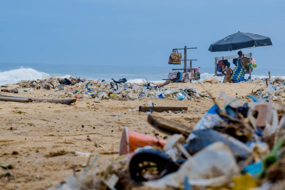 Isla de basura, un continente en medio del Océano Pacífico