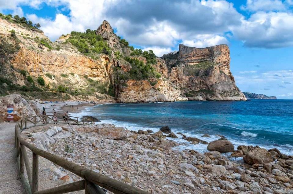 Cala de Moraig, cala de España imprescindible