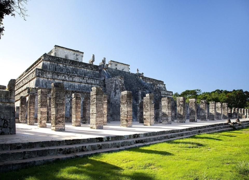 Ruinas arqueológicas mayas