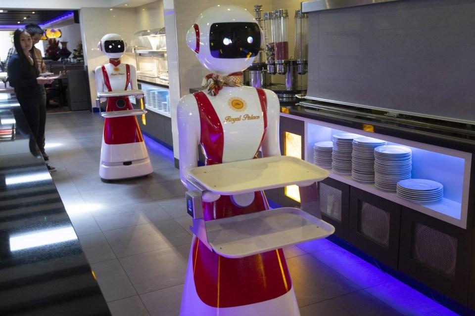robotización de restaurantes