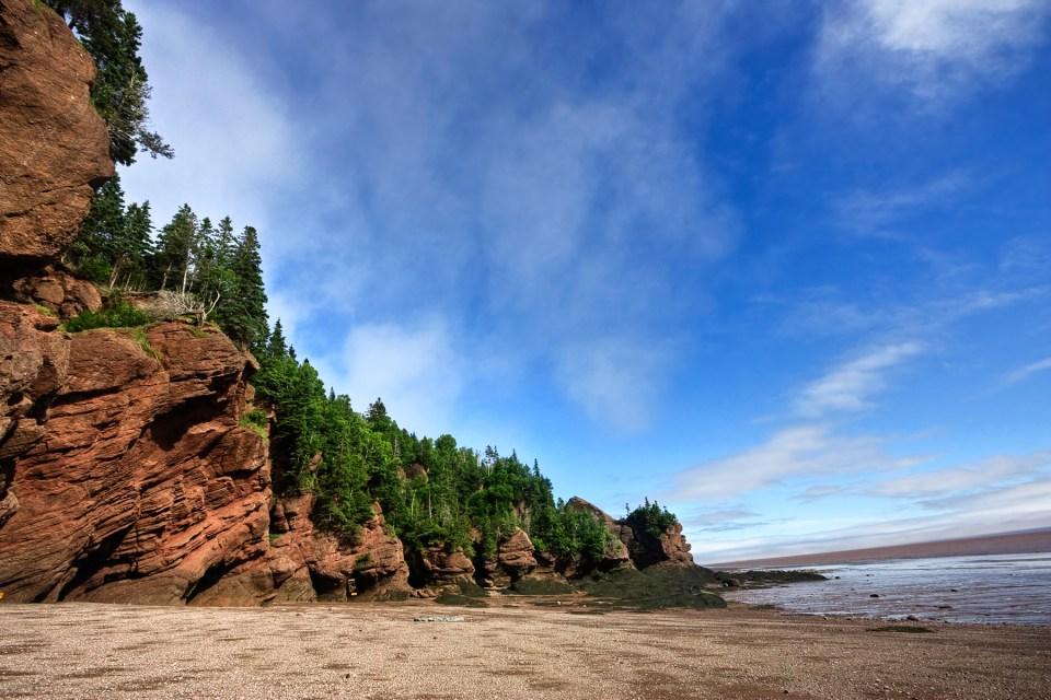 Bahía de los Acantilados de Fundy