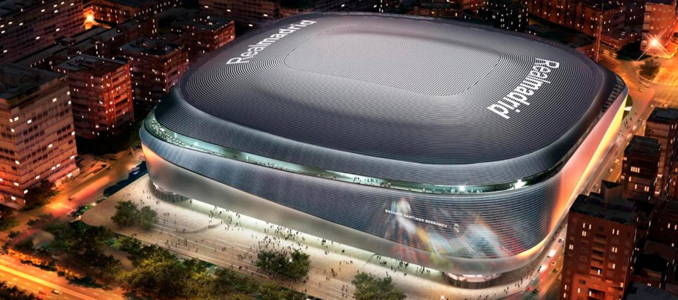 El Santiago Bernabéu en Madrid es uno de los campos de fútbol europeos que son un atractivo turístico