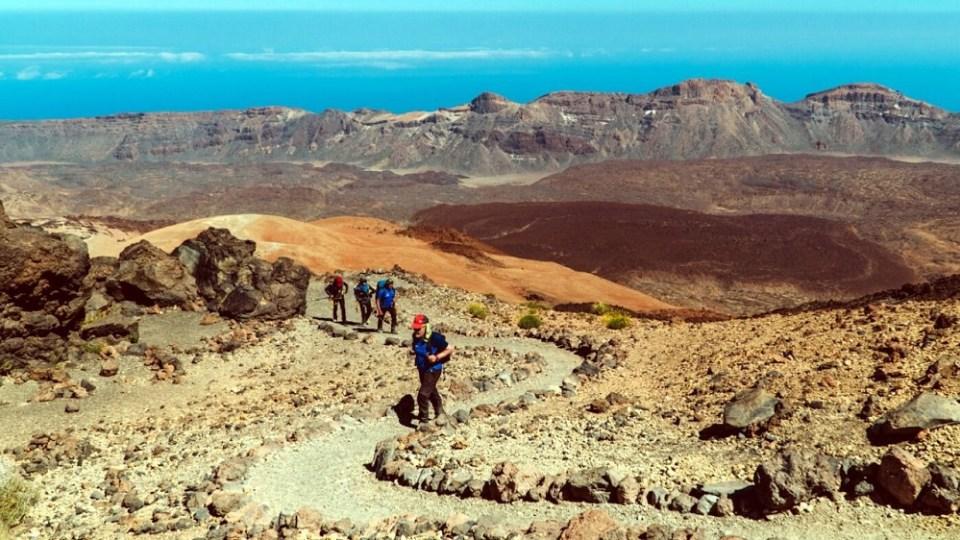 Ruta 040 en Tenerife el sendero con mayor desnivel de España