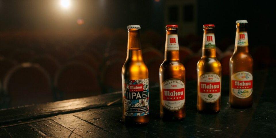 Mahou, una de Las cervezas más típicas de España