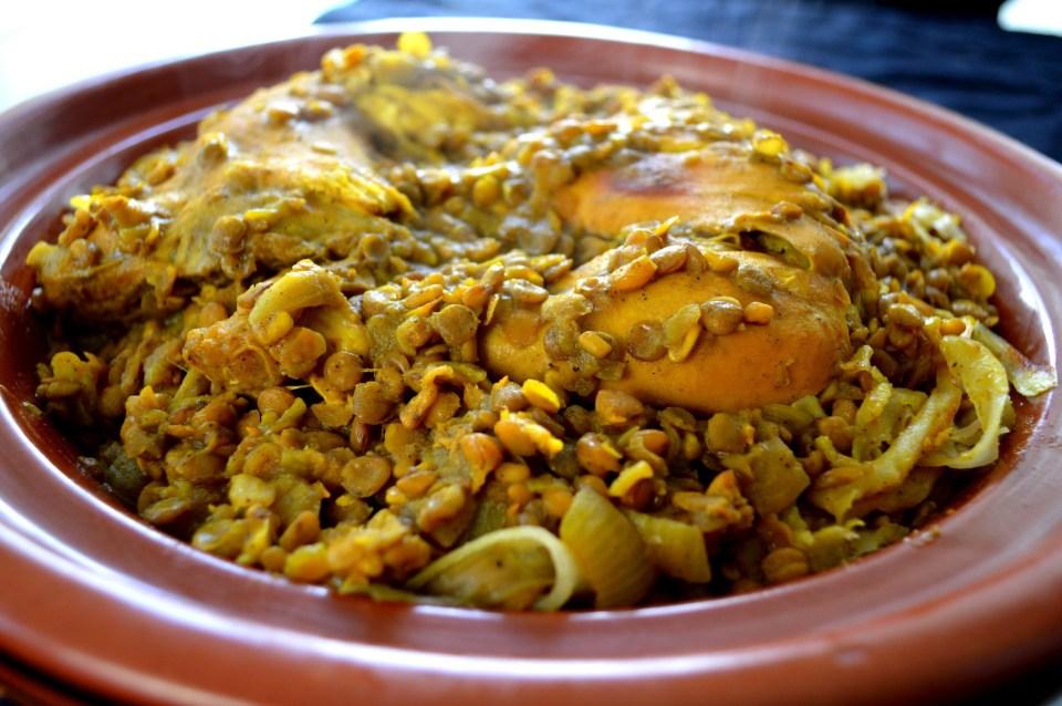 rfissa uno de los platos típicos de la gastronomía marroquí