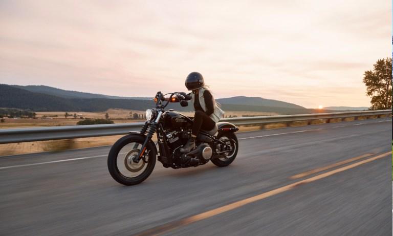 Ruta en moto por carretera