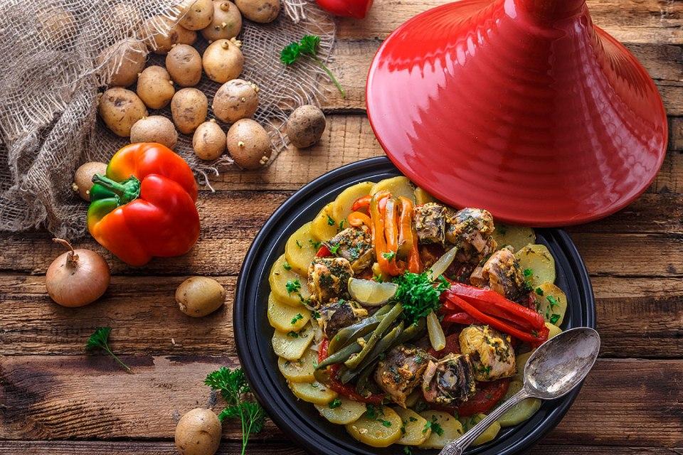 Tajine, uno de los platos típicos de la gastronomía marroquí