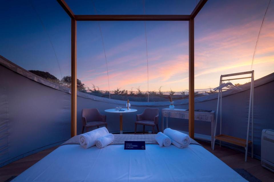 mejores hoteles burbuja de España
