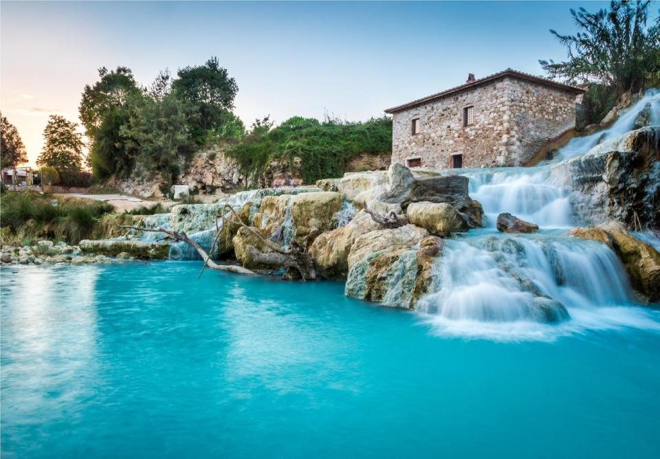 En Toscana encontramos las mejores baños termales de Europa