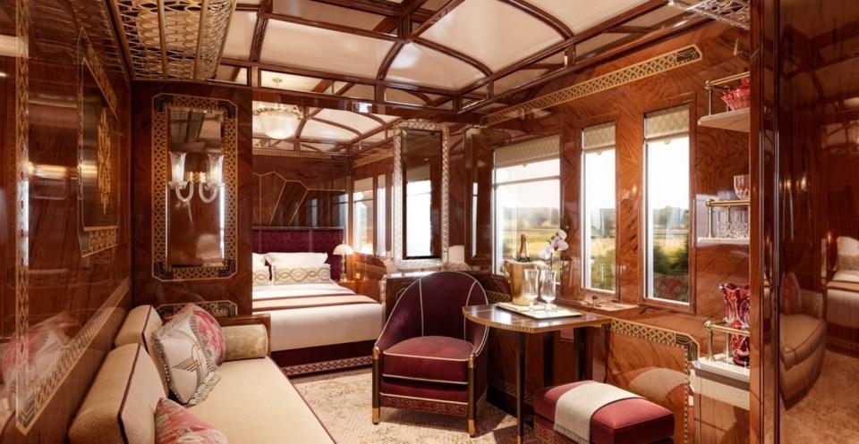 viajes en tren de lujo: el Orient Express