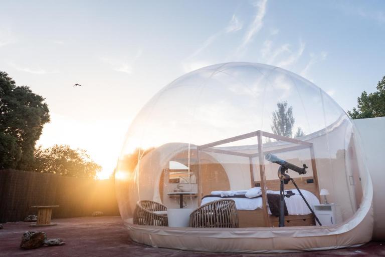 habitación burbuja