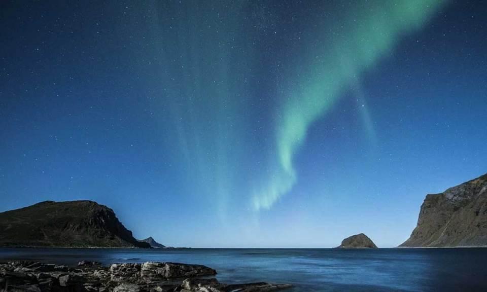 Auroras boreales, uno de los sitios que ver en Noruega