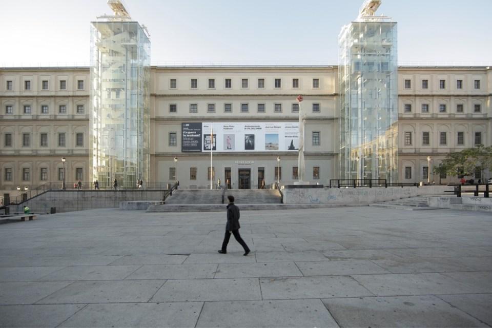 El museo Reina Sofía es uno de los edificios encantados en España