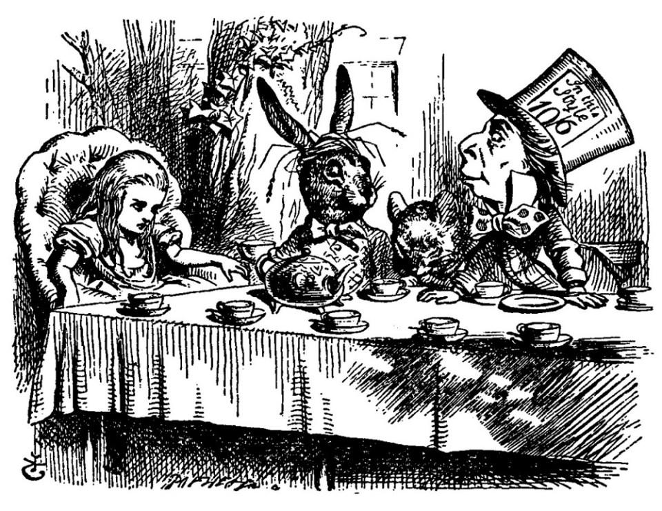 Lewis Carroll creó un mundo de fantasía donde todos estaban locos