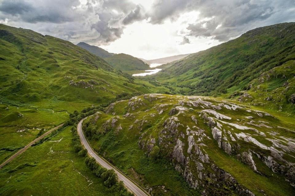 Las Tierras Altas de Escocia son uno de los lugares increíbles del mundo