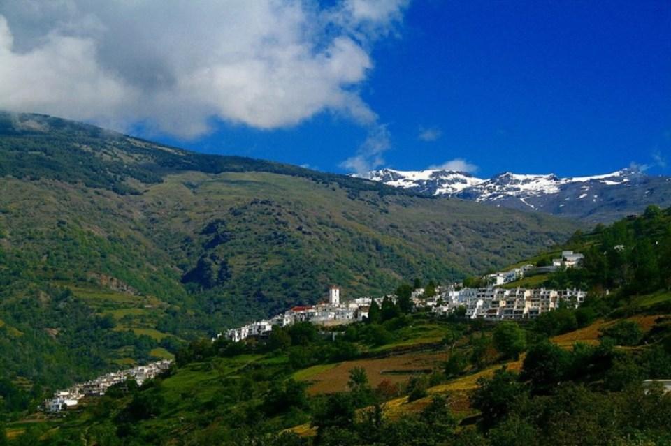 La ruta de la Alpujarra es de las más icónicas de Andalucía
