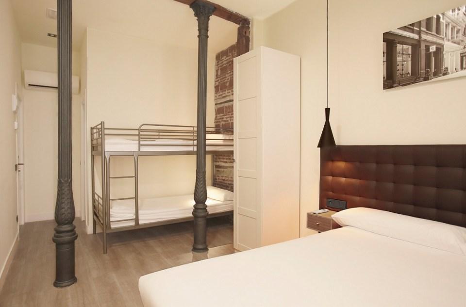 Woohoo Rooms cuenta con varios alojamientos y son de los hoteles más baratos en Madrid