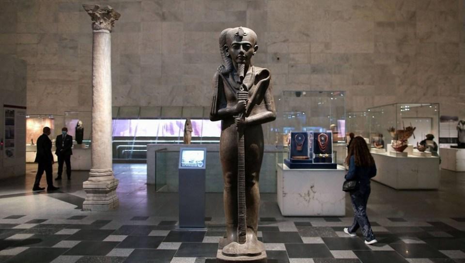 Las momias ya no están en el Museo Egipcio de El Cairo
