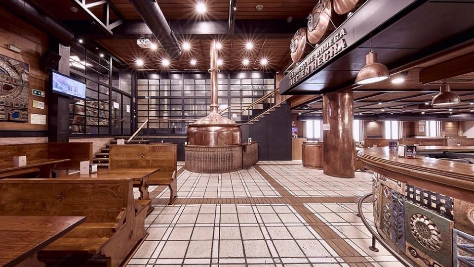 La cervecería de Estrella de Galicia te encantará