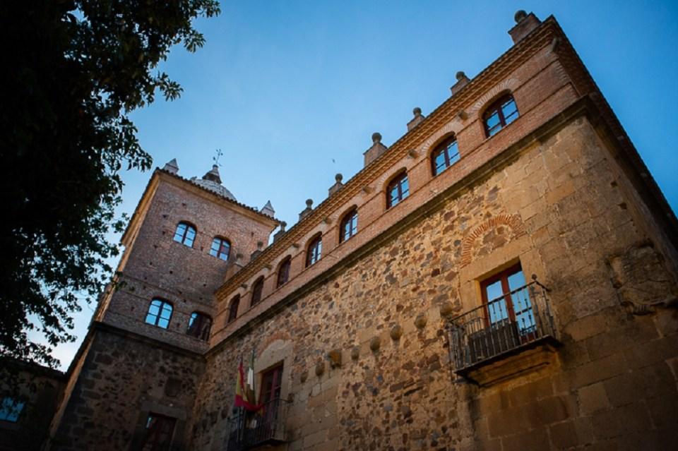 El Palacio Toledo-Moctezuma recuerda el gran pasado histórico de Cáceres