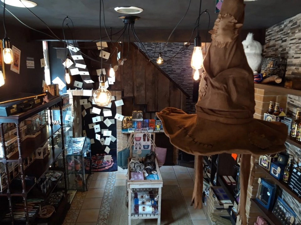 Para los magos y brujas, la tienda que no debe ser nombrada