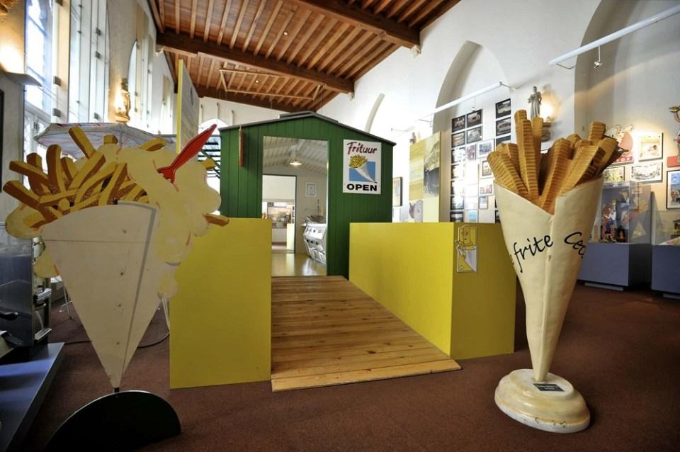 Frietmuseum o Múseo de las Patatas Fritas