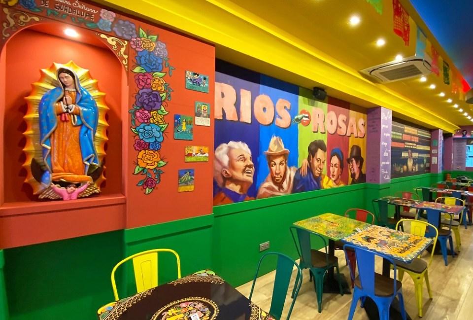 restaurante mexicano Madrid