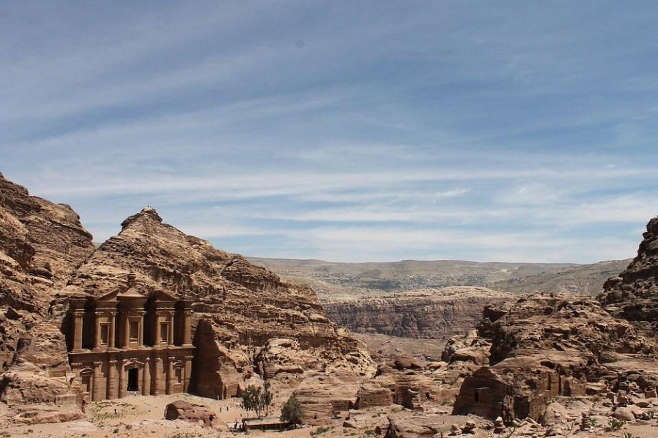 Petra patrimonio de la UNESCO