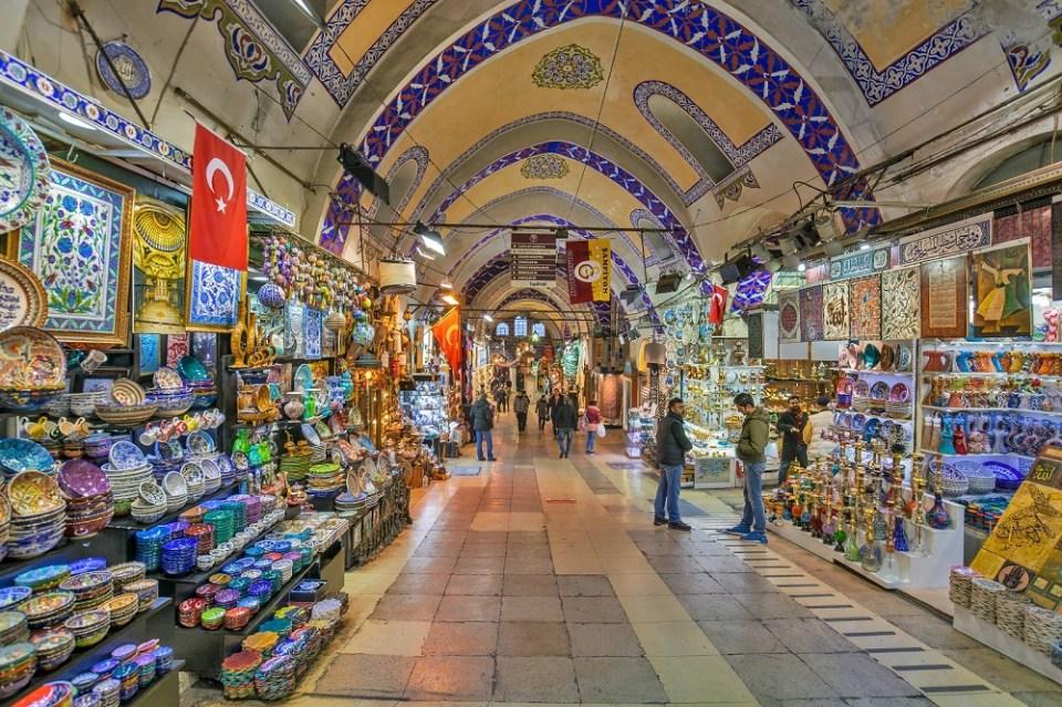 Gran Bazar qué ver en Estambul