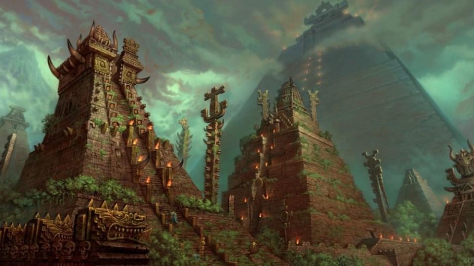 Mictlán y Xibalbá vienen de las civilizaciones precolombinas