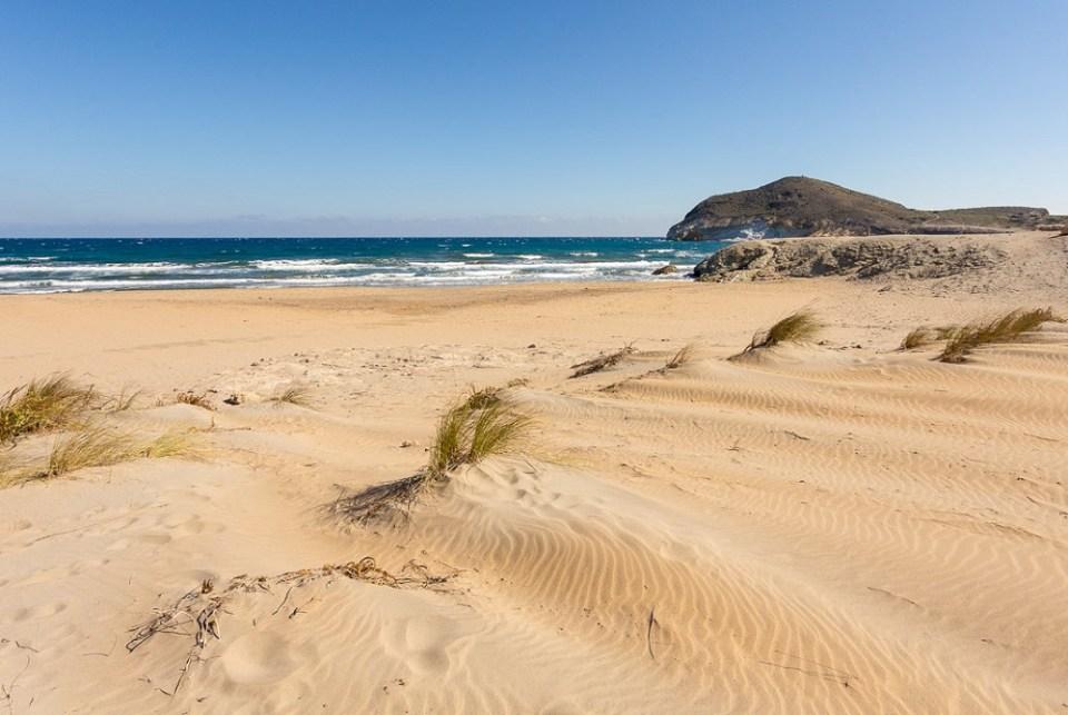 Playa de los Genoveses mejores playas de Andalucía
