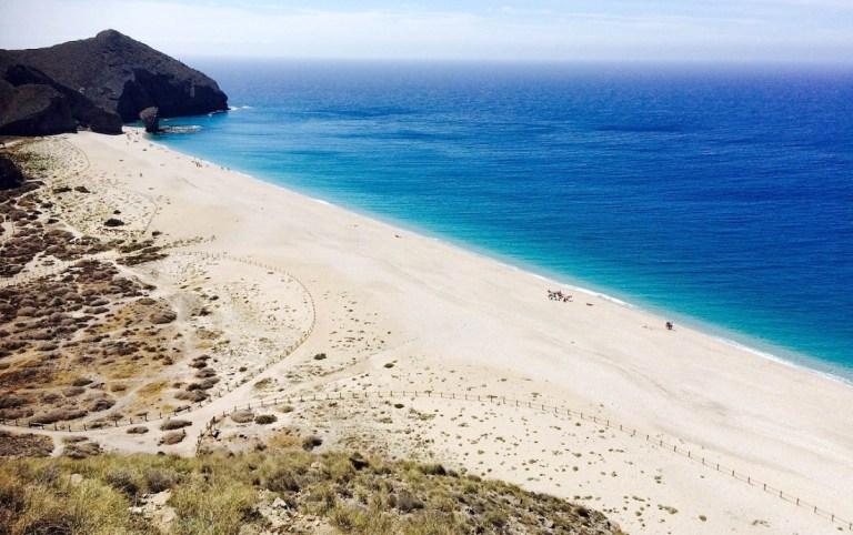 Playa de los muertos mejores playas de Andalucía