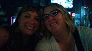 Tara and I at The Jimani