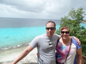 Mike and Tana in Bonaire